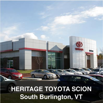 Classic heritage toyota for Vermont department of motor vehicles south burlington vt